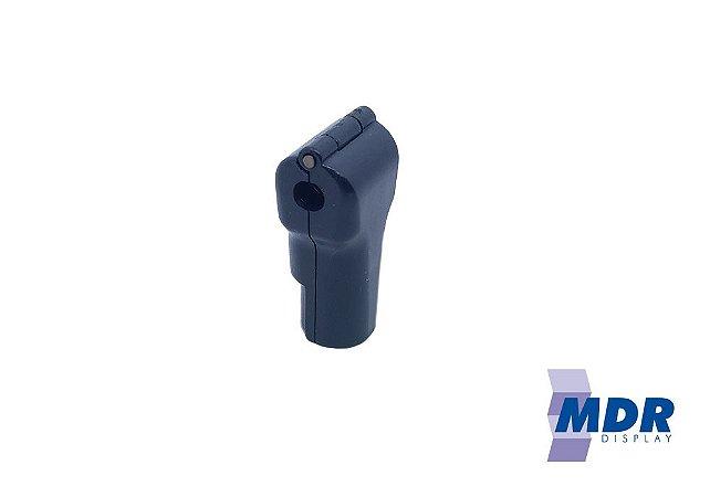 Trava Antifurto Para Gancho (Expositores) na cor Preta / Kit com 50 unidades + 1 Chave Magnética