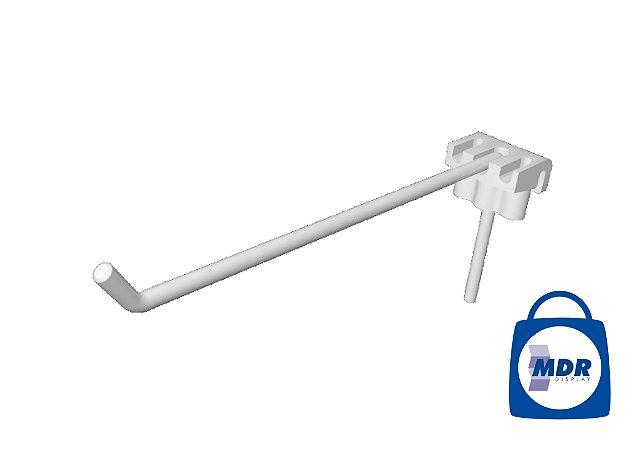 Gancho Simples para Tela com Encaixe Plástico / Kit com 50 unidades
