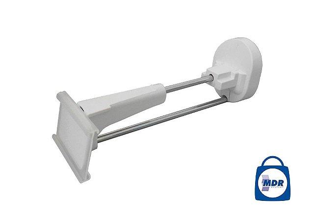 Gancho Antifurto com Porta Preço / Kit com 10 unidades e 1 Chave Magnética