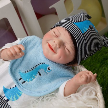 Bebe Reborn Born Real Smile Flow 50CM- Lançamento 2021