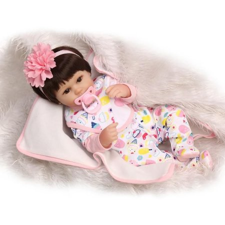 Bebe Reborn Ariela com Mantinha