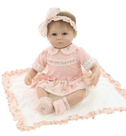 Bebê Reborn Michele 40cm Lindinha!