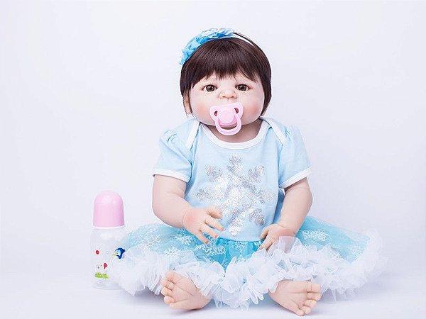 Bebê Reborn Taiane com Look de Inverno