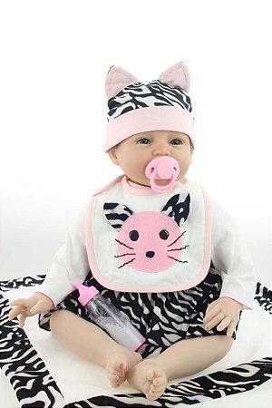 Bebê Reborn Alicia Imperdível Lançamento 2017 Linda Demais!