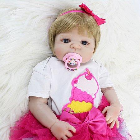 Bebê Reborn Summer Loira - Lançamento 2018