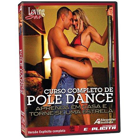 DVD - Curso Completo de Pole Dance - Loving Sex