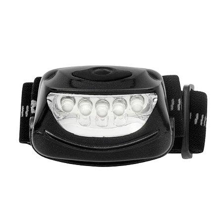Lanterna De Cabeça Mãos Livres 5 Led C/ 3 Pilhas - Rayovac