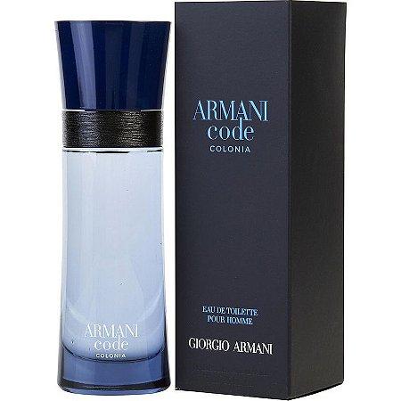 96d0b81f30f Giorgio Armani Armani Code Colonia - Eau de Toilette - Perfume Masculino