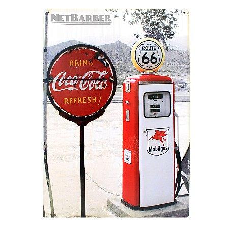 Quadro Route 66 Coca Cola
