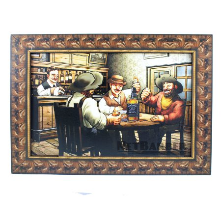 Quadro Jack Daniel's Sobreposto