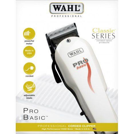 7b80893f5 Wahl Pro Basic - Máquina de Corte - São Chico Barber | Tudo para ...