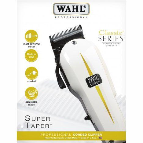 Máquina Profissional de Corte Wahl Super Taper