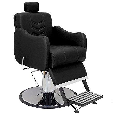 Cadeira De Barbeiro Veneza - Cálice Cromado