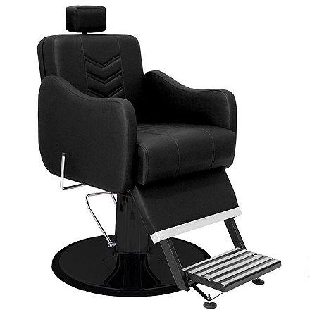 Cadeira De Barbeiro Veneza - Cálice Preto