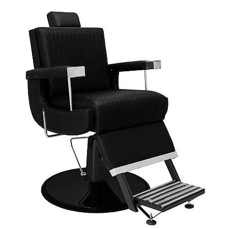 Cadeira De Barbeiro Flórida - Cálice Preto