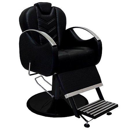 Cadeira De Barbeiro Alfa - Cálice Preto