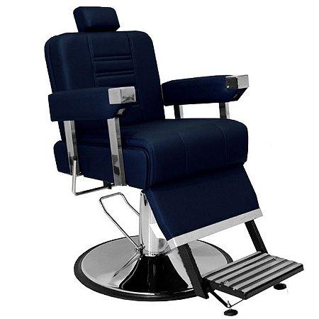 Cadeira De Barbeiro Detroit - Cálice Cromado