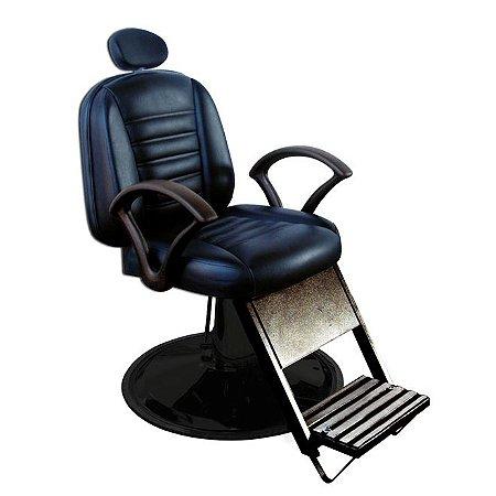 Cadeira De Barbeiro Madri - Cálice Preto