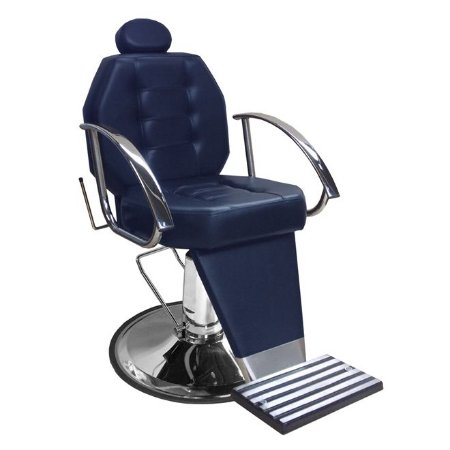 Cadeira De Barbeiro Línea - Cálice e Braço Cromado