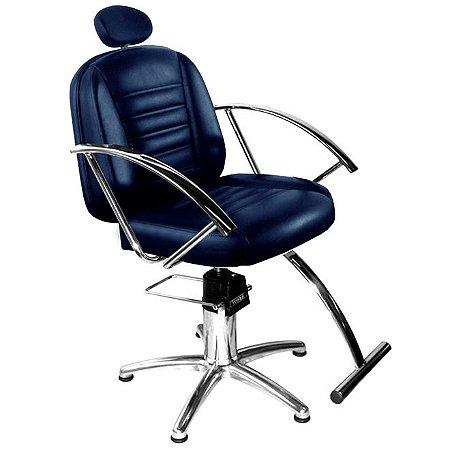 Cadeira De Barbeiro Paris - Pentapé De Alumínio