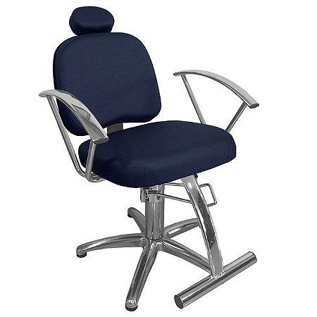 Cadeira De Barbeiro Iris - Pentapé De Alumínio