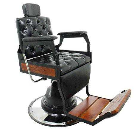 Cadeira de Barbeiro Reclinável Hawk