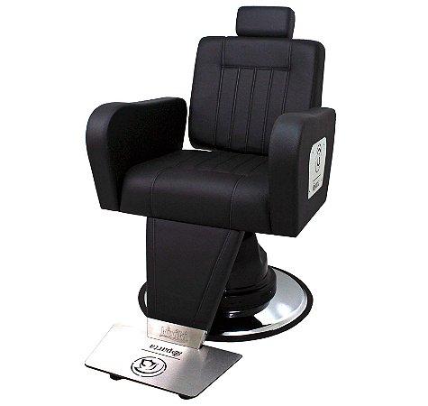Cadeira de Barbeiro Sparta Reclinável