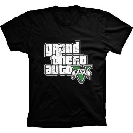 Camiseta GTA V Grand Theft Auto
