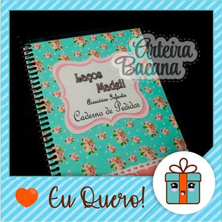 Caderno de pedido