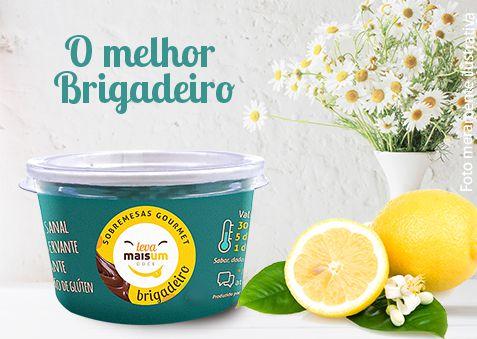 Brigadeiro de limão siciliano