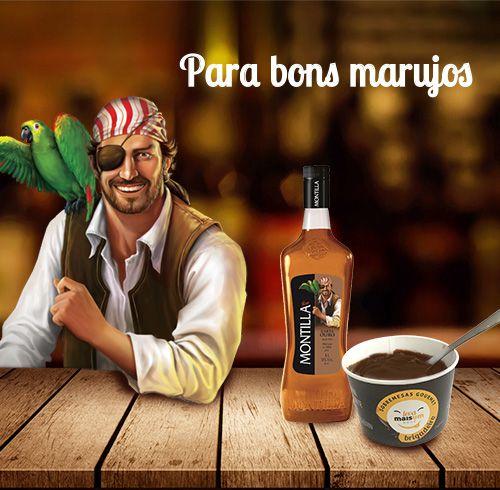 Brigadeiro com rum