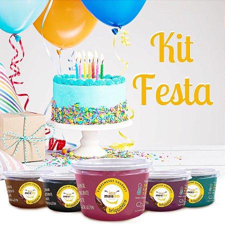 Kit festa 20 pessoas - Buffet de brigadeiro