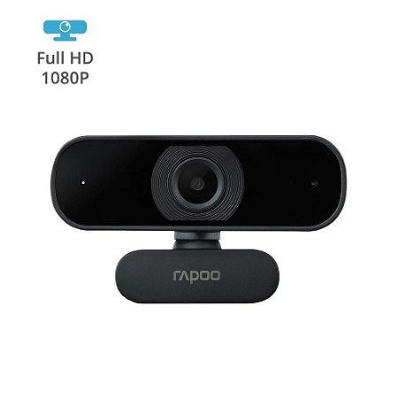 Webcam Rapoo Full Hd 1080P Black Com Auto Foco C260 - RA021