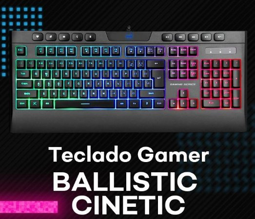 Teclado Ballistic Cinetic DAZZ