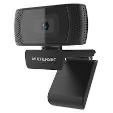 WEBCAM MULTILASER 1080P MIC USB 4K PHOTOS PRETO WC050