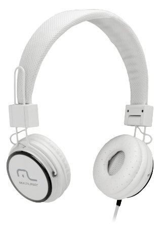 HEADFONE C/ MICROFONE HEADFUN MULTILASER PH087 BRANCO