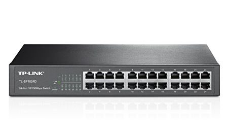 Switch tp-link 24p de mesa 10/100 tl-sf1024d