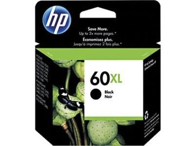 CARTUCHO TINTA ORIGINAL HP 60XL PRETO CC641WB