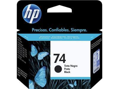 CARTUCHO ORIGINAL HP 74 PRETO - CB335WB
