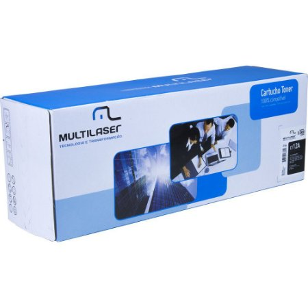 TONER MULTILASER HP CT12ABU  HP PRETO MULTILASER CT12A