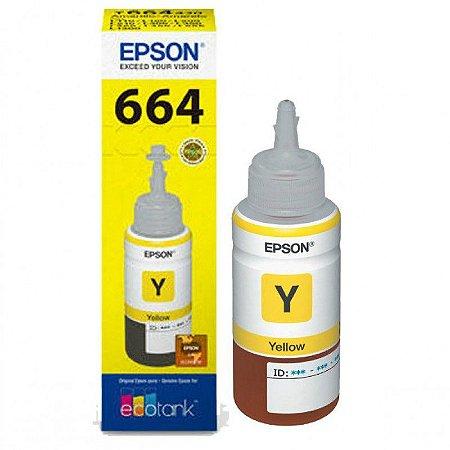 Refil tinta epson 664 amarelo - t664420