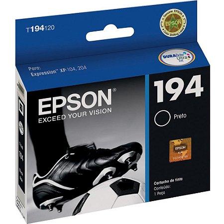Cartucho Original Epson 194 Black - T194120  P/ Xp204/104
