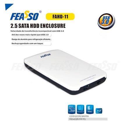"""Case Hd Fahd-11 2.5"""" Sata - Usb 3.0 Feasso"""