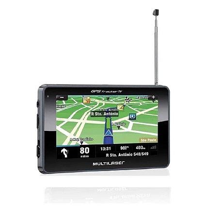 Gps Tracker Iii 4,3' C/ Tv Fm Multilaser Gp034