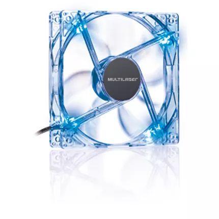 cooler fan 12x12 cm c/ led azul multilaser ga135
