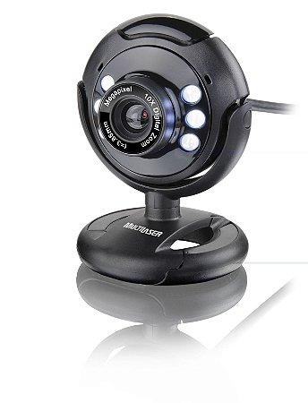 Webcam Vision Noturna 16mp Multilaser Wc045