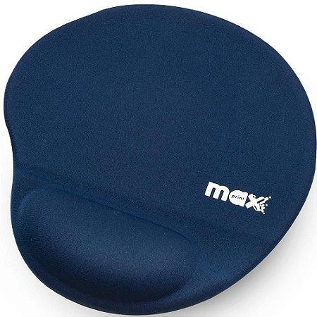 Base P/ Mouse Apoio Gel Azul Max