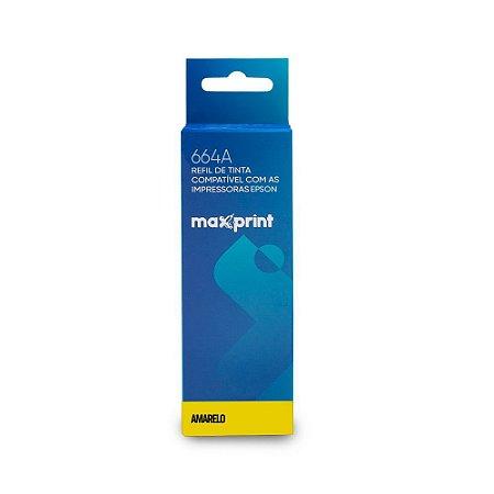 Refil de Tinta Maxprint compatível Epson Yellow T664420