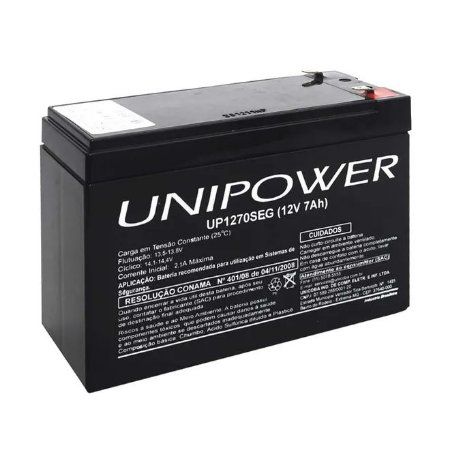 Bateria Selada Unipower Up1270seg 12v 7a
