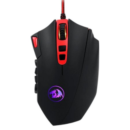 Mouse gamer redragon perdition 2 black color m901-1